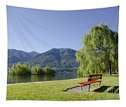 Lakefront With Mountain Tapestry