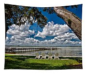 Lakeside View Tapestry