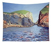 Land And Sea No I - Ramsey Island Tapestry