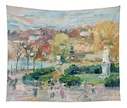 Landscape In Tours Tapestry