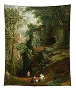 Landscape Near Clifton Tapestry