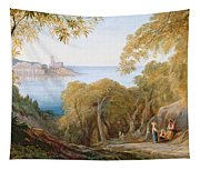 Landscape With View Of Lerici Tapestry