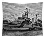 Largest In The Fleet Tapestry