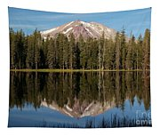 Lassen Peak Reflections Tapestry