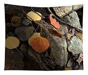 Last Vestige Of Fall Tapestry