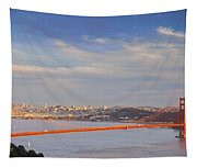 Late Evening Over San Francisco Tapestry
