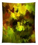 Late Summer Nature Abstract Tapestry