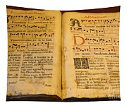 Latin Hymnal 1700 Ad Tapestry