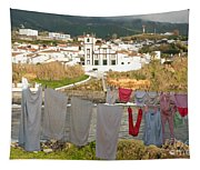 Laundry Day In Azores Tapestry
