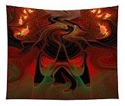 Red Hot Lava Tapestry