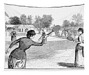 Lawn Tennis, 1883 Tapestry