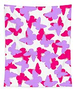 Layered Butterflies  Tapestry