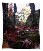 Leaves In The Forest Tapestry