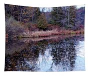 Leaves On Water Tapestry