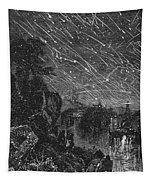 Leonid Meteor Shower, 1833 Tapestry