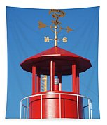 Light House On Coney Island Tapestry