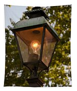 Lighted Street Lamppost Tapestry