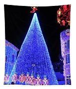 Lighted Xmas Tree Walt Disney World Tapestry