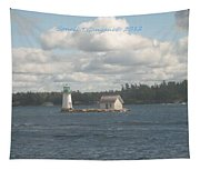 Lighthouse Island Tapestry