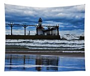 Lighthouse Reflections Tapestry