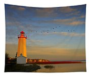 Lighthouse, Sylvan Lake, Alberta, Canada Tapestry