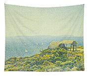 L'ile Du Levant Vu Du Cap Benat Tapestry
