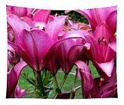Lilies  Tapestry