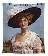 Lillian Russell On Cover Tapestry