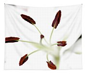Lily Center Tapestry