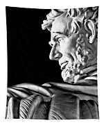 Lincoln Profile Tapestry