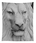 Lion In Stone Tapestry