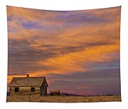 Little House On The Colorado Prairie 2 Tapestry