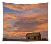 Little House On The Colorado Prairie Tapestry