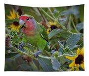Little Lovebird Tapestry