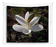 Little White Flower Tapestry
