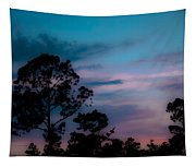 Loblelly Pine Silhouette Tapestry