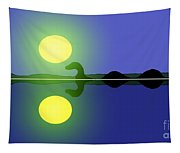 Loch Ness Sunrise Tapestry