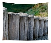 Log Handrail Tapestry