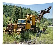 Logging Truck 2 - Burke Idaho Ghost Town Tapestry