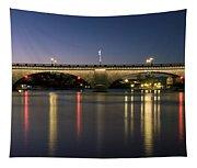 London Bridge At Dusk Tapestry