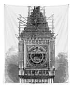 London: Clock Tower, 1856 Tapestry