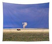 Lone Buffalo 4 Tapestry