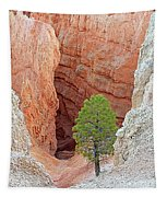 Lone Tree At Bryce National Park Tapestry