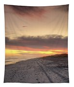 Lonely Beach Tapestry