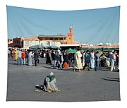 Lonely In Marrakesh Tapestry