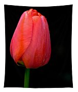 Lonely Tulip Tapestry