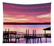 Long After Sunset Tapestry