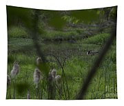 Looking Through The Trees Tapestry