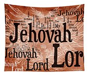 Lord Jehovah Tapestry