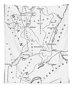 Lorraine And Alsace: Map Tapestry